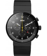 Braun BN0095BKBKBTG Mężczyźni Prestige czarny zegarek chronograf