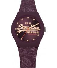 95b1703436b26 Superdry SYL248V Damski zegarek w kształcie liści