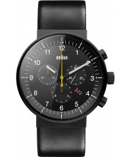 Braun BN0095BKG Mężczyźni Prestige czarny zegarek chronograf