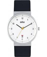 Braun BN0032WHBKG Mężczyzna cały biały czarny zegarek