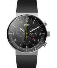 Braun BN0095BKSLBKG Mężczyźni Prestige czarny zegarek chronograf