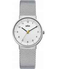 Braun BN0031WHSLMHL Panie srebrne biały zegarek