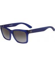 Karl Lagerfeld Mężczyźni kl871s matowe niebieskie okulary
