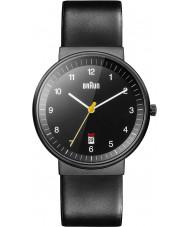 Braun BN0032BKBKG Mężczyzna cały czarny zegarek