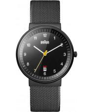 Braun BN0032BKBKMHG Mężczyzna cały czarny zegarek