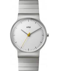 Braun BN0211SLBTG Męskie klasyczne szczupła srebra stalowy zegarek bransoletka