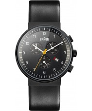 Braun BN0035BKBKG Zegarów cały czarny zegarek