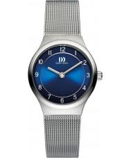 Danish Design V69Q1072 Panie srebrne bransoletki siatki stalowej zegarek
