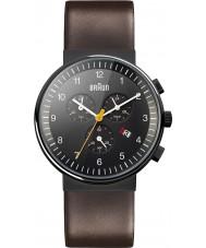 Braun BN0035BKBRG Mens czarny brązowy zegarek
