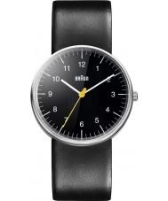 Braun BN0021BKBKG Mężczyzna cały czarny zegarek kwarcowy
