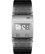 Braun BN0076SLBKG Mężczyzna czarny zegarek cyfrowy