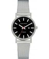 Danish Design V63Q199 Panie srebrne bransoletki siatki stalowej zegarek