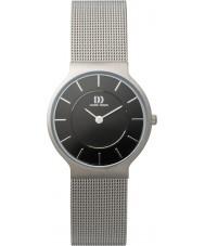 Danish Design Q63Q732 Mens srebrna siatka stalowa bransoletka zegarek