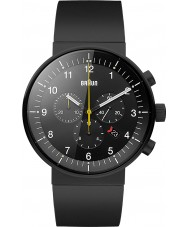 Braun BN0095BKBKBKG Mężczyźni Prestige czarny zegarek chronograf