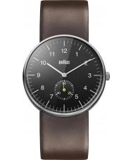 Braun BN0024BKBRG Mens czarny brązowy zegarek